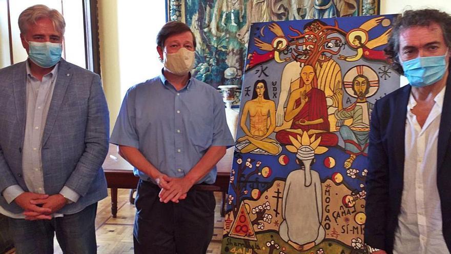 Camaró cede una obra a Lumbini Garden