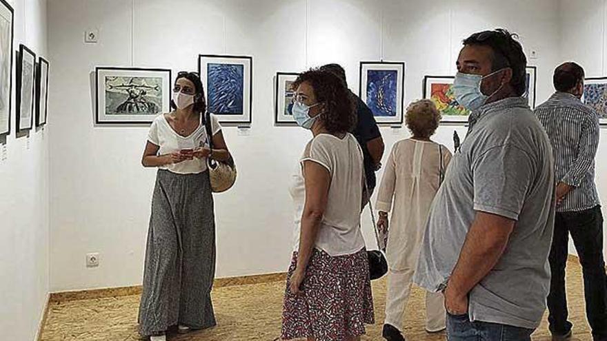 Algaida estrena el espacio artístico sa Peixateria