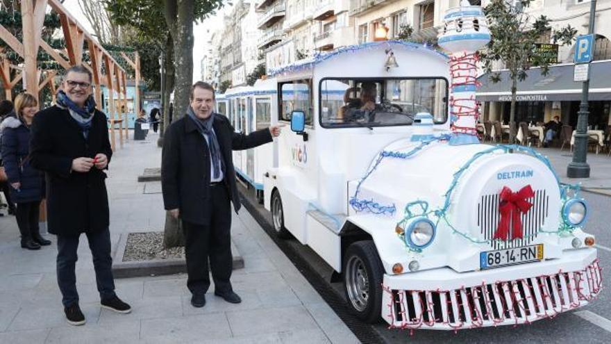 """La Navidad de Vigo suma el """"Nadal Tren"""" a sus atracciones"""