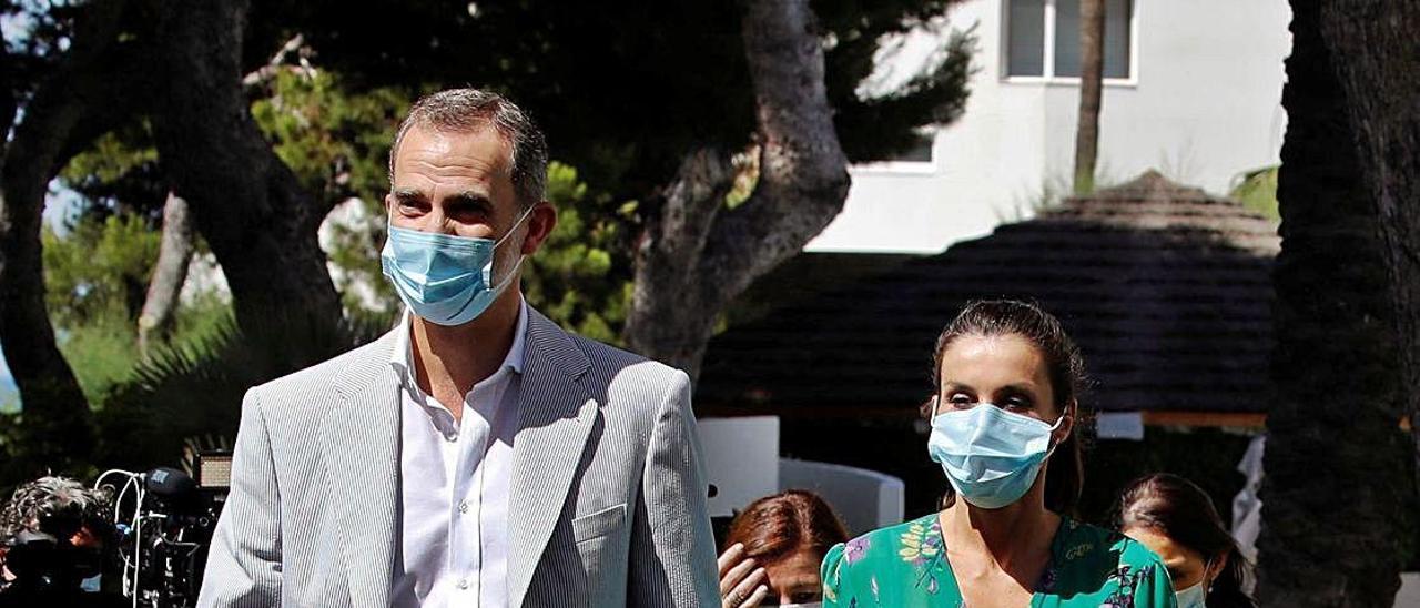 Felipe y Letizia en una imagen de archivo
