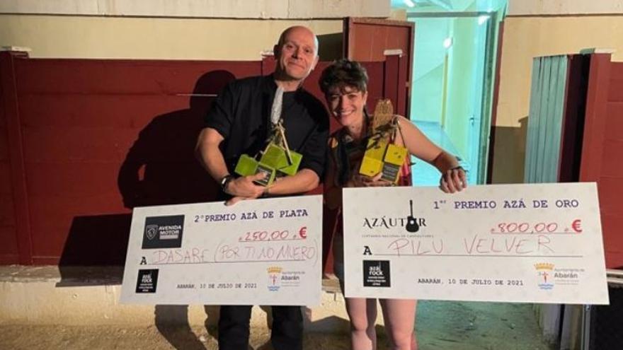 La madrileña Pilu Velver se hace con la 'Azá de Oro' en el Certamen Nacional 'Azautor' de Abarán