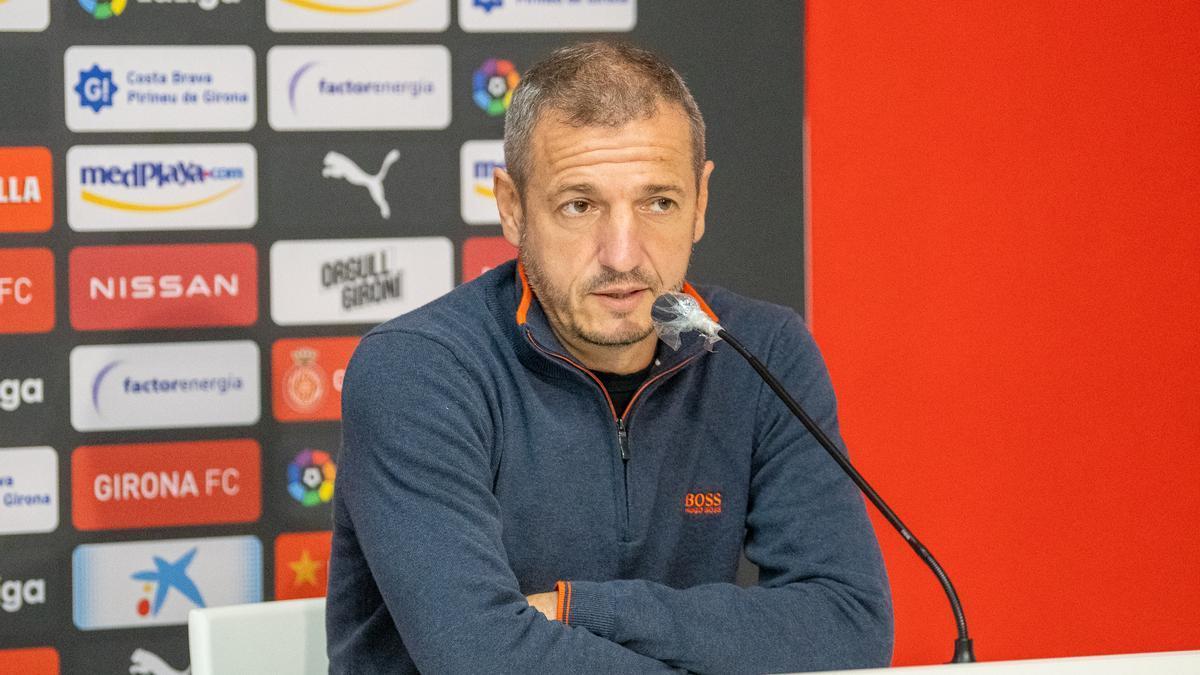 Quique Cárcel, màxim responsable esportiu del Girona