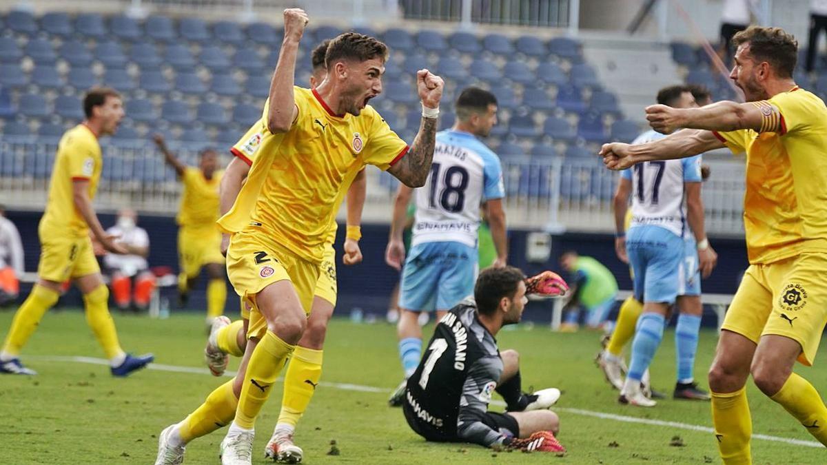A finales de la temporada pasada, los catalanes lograron salir de La Rosaleda con una victoria por 0-1 para afianzarse en la zona del play off.