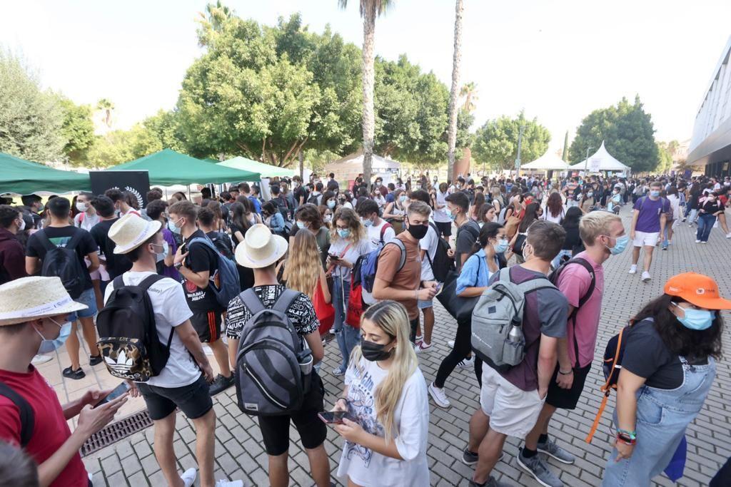Bienvenida UA: así ha sido la feria de inauguración del curso 2021-22