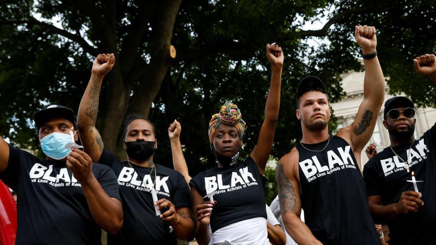 Manifestantes piden justicia para Jacob Blake