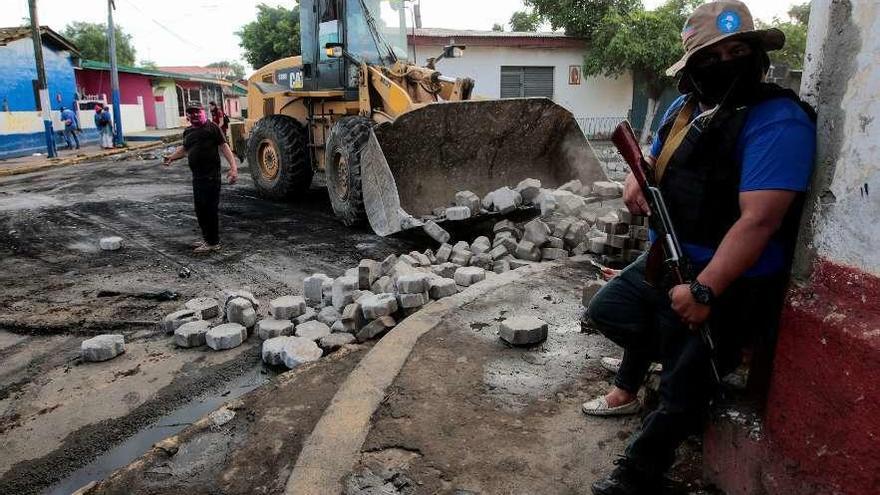 Las fuerzas oficialistas toman la última ciudad rebelde de Nicaragua