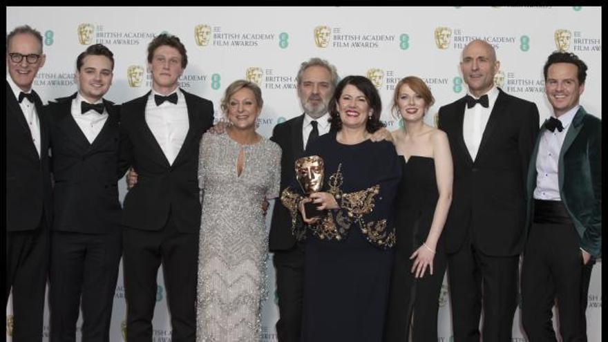 '1917' triunfa en los Bafta con 7 premios
