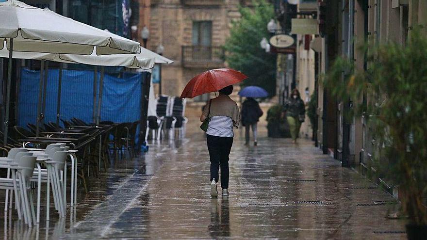 Suspensión por la amenaza de lluvias
