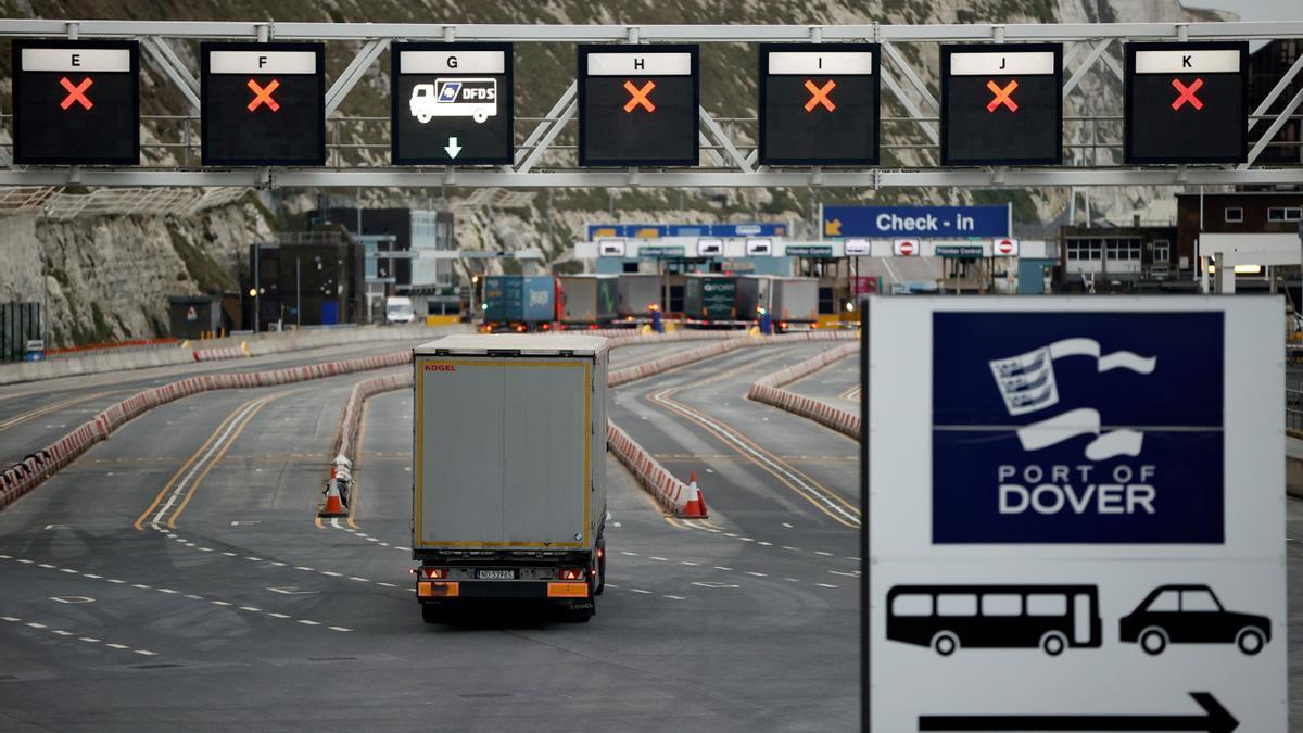 Controles en el puerto de Dover