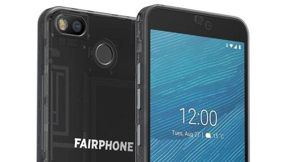 El Fairphone 3, de Fairphone, una de las marcas de teléfonos sostenibles.