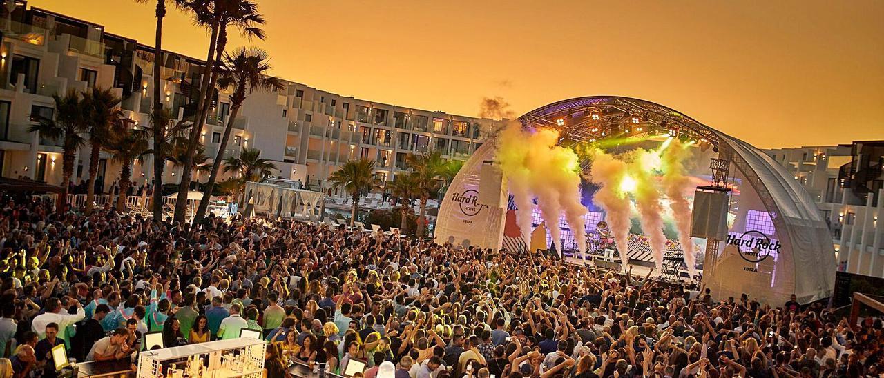 La prueba piloto se celebrará en el Hard Rock Hotel con la fiesta 'Children of the 80's', confirmó ayer Ocio de Ibiza.