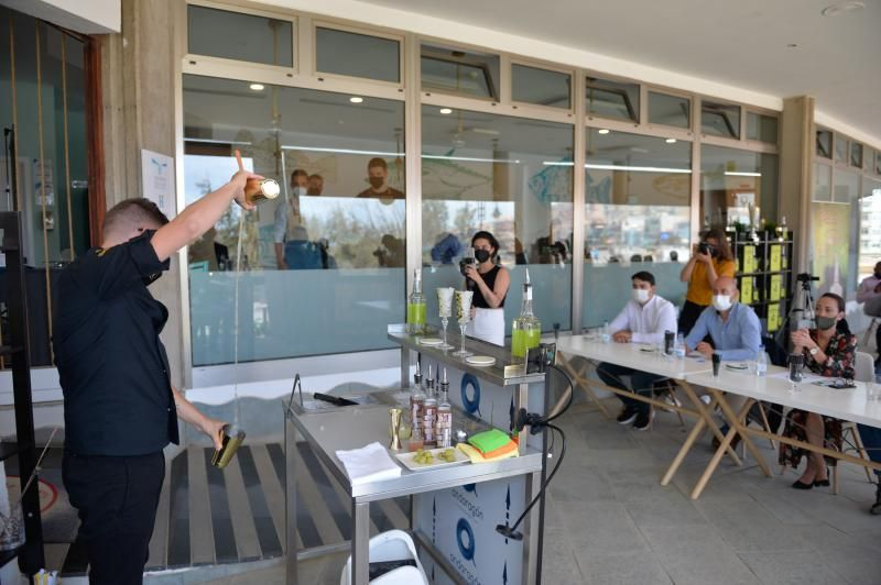 Concurso de coctelería en Melenara