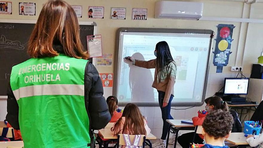 El 85% de las aulas de Orihuela cumple los parámetros de CO2