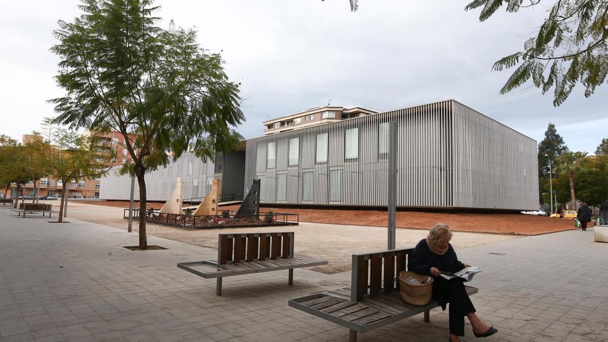 La BUC, en una foto de archivo, se convertirá en unos meses en la sede central de bibliotecas.