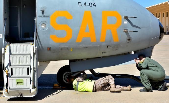06/03/2019 BASE AEREA DE GANDO, TELDE. Acto de despedida del personal de 11º Contingente del Destacamento Grappa. (SAR). SANTI BLANCO