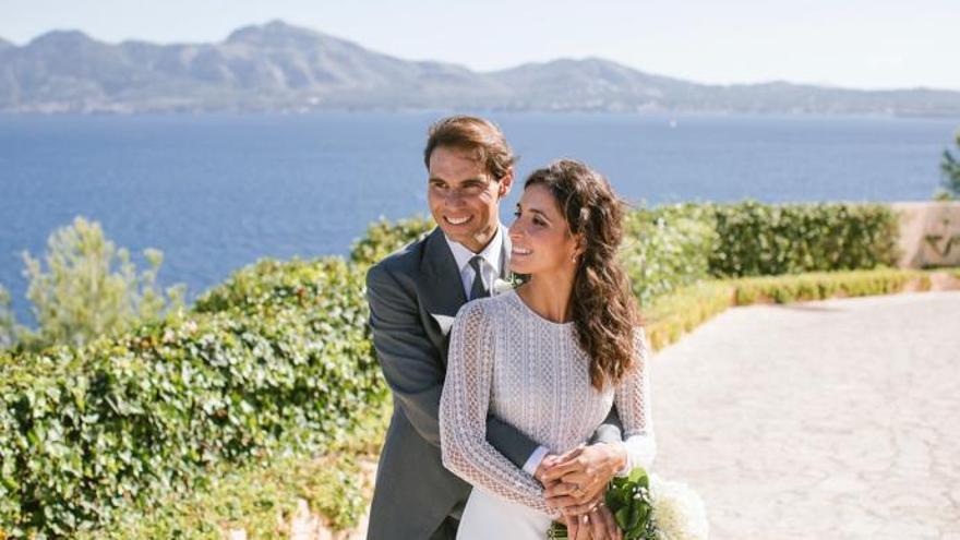 Rafa Nadal y Mery Perelló cumplen dos años de casados