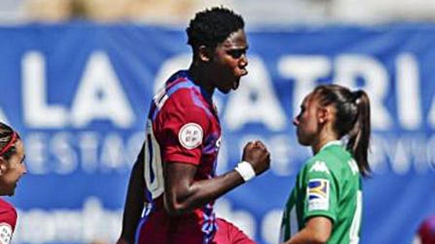 El Barça femení goleja el Betis i Jana Fernández juga 14 minuts