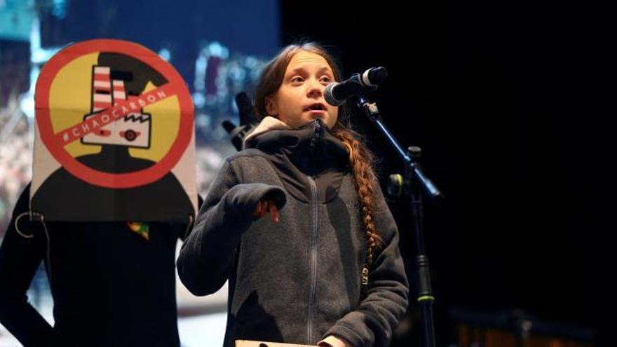 """Thunberg, a los políticos: """"El cambio viene os guste o no"""""""