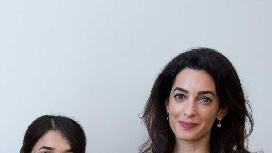 """Amal Clooney denuncia el """"terror"""" del EI contra mujeres yazidíes"""