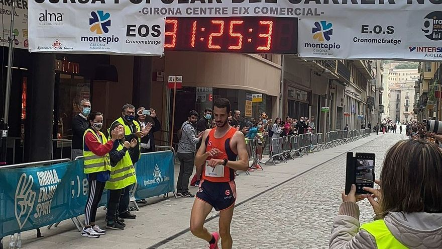 Josep Maria Arnal guanya els 10Km de la Cursa del Carrer Nou de Girona