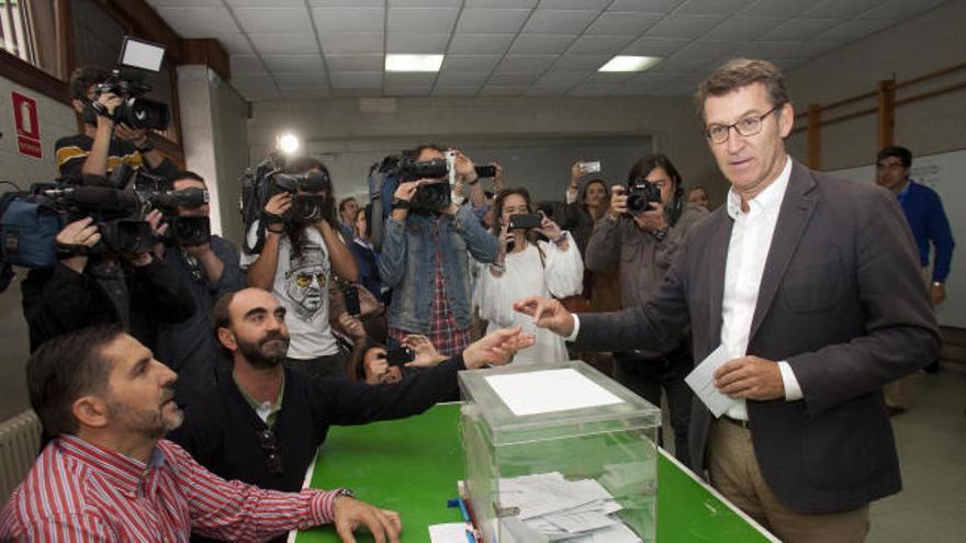 Los candidatos llaman en Galicia a la participación