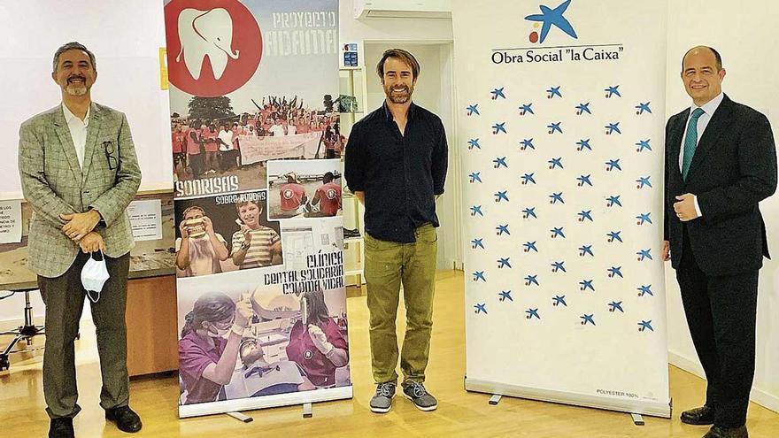 CaixaBank y Fundación 'la Caixa' renuevan su apoyo a Dentistas Sobre Ruedas