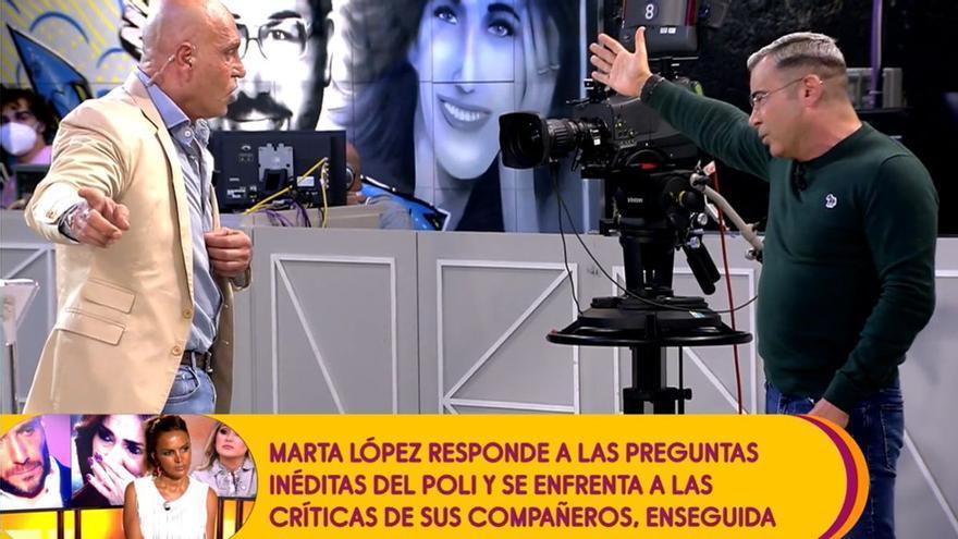 """Jorge Javier estalla contra Matamoros y le echa de plató: """"Vete, estás haciendo el ridículo"""""""