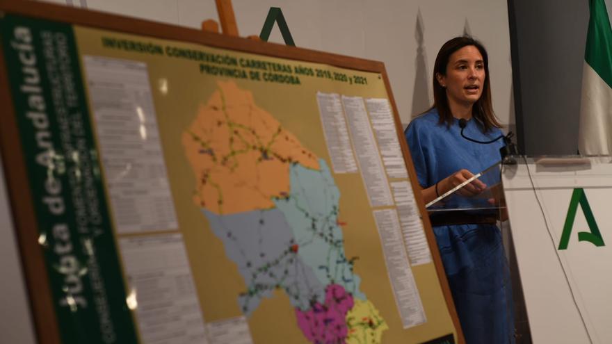 La Junta invierte 40,2 millones de euros en la red de carreteras autonómicas de Córdoba