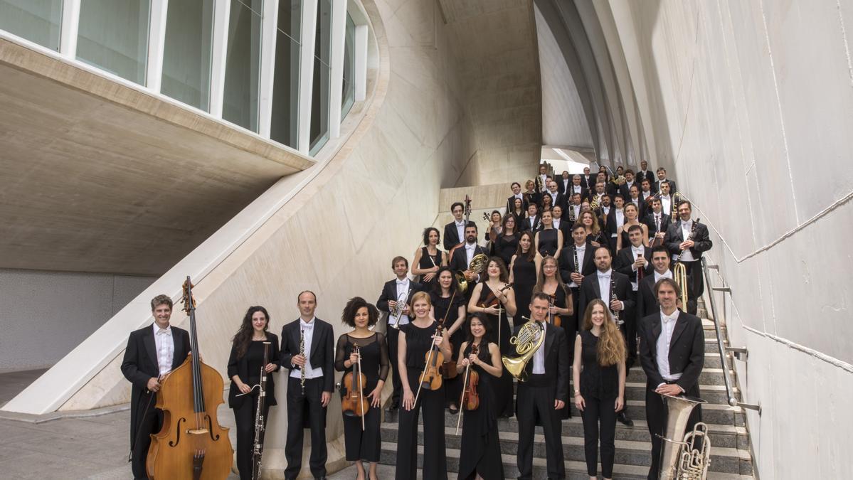 La Orquesta de la Comunitat Valenciana.