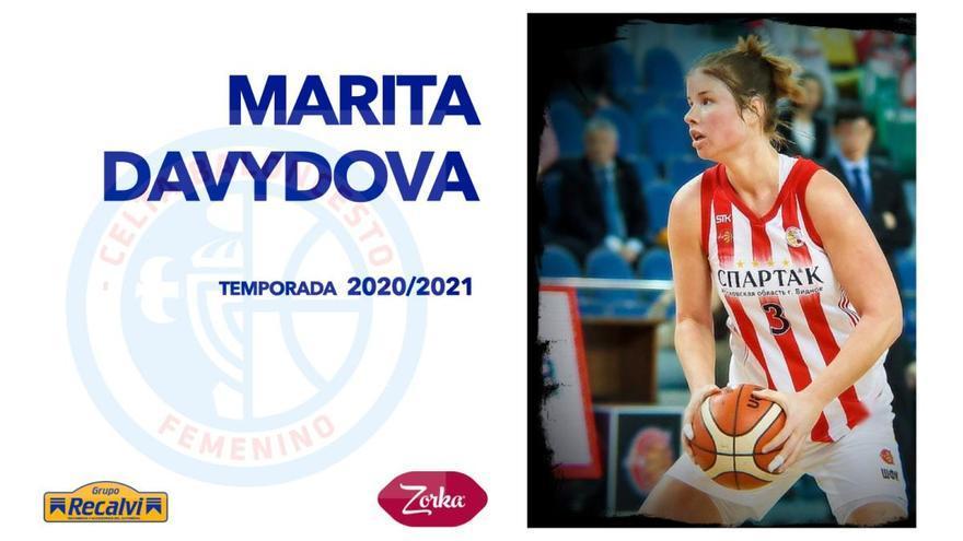 Marita Davydova, primera incorporación del Celta Zorka Recalvi