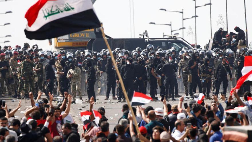Al menos 21 muertos en las protestas sociales en Irak