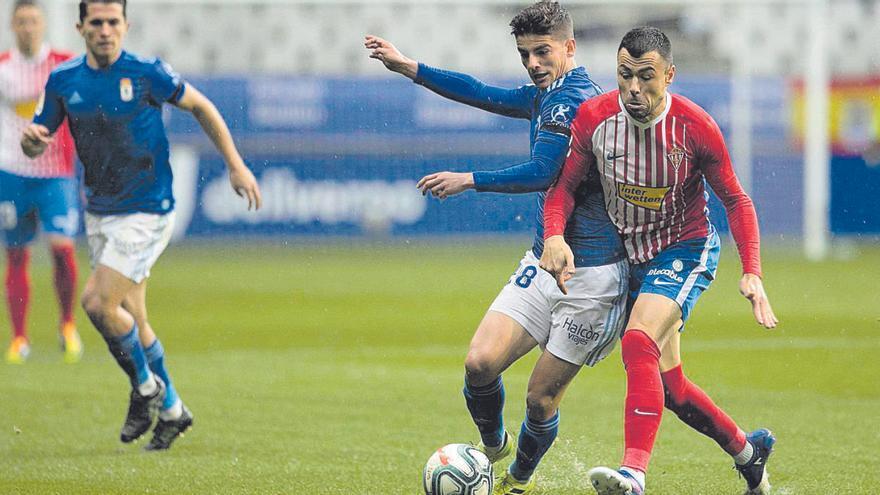 Los jugadores más fieles al derbi del fútbol asturiano
