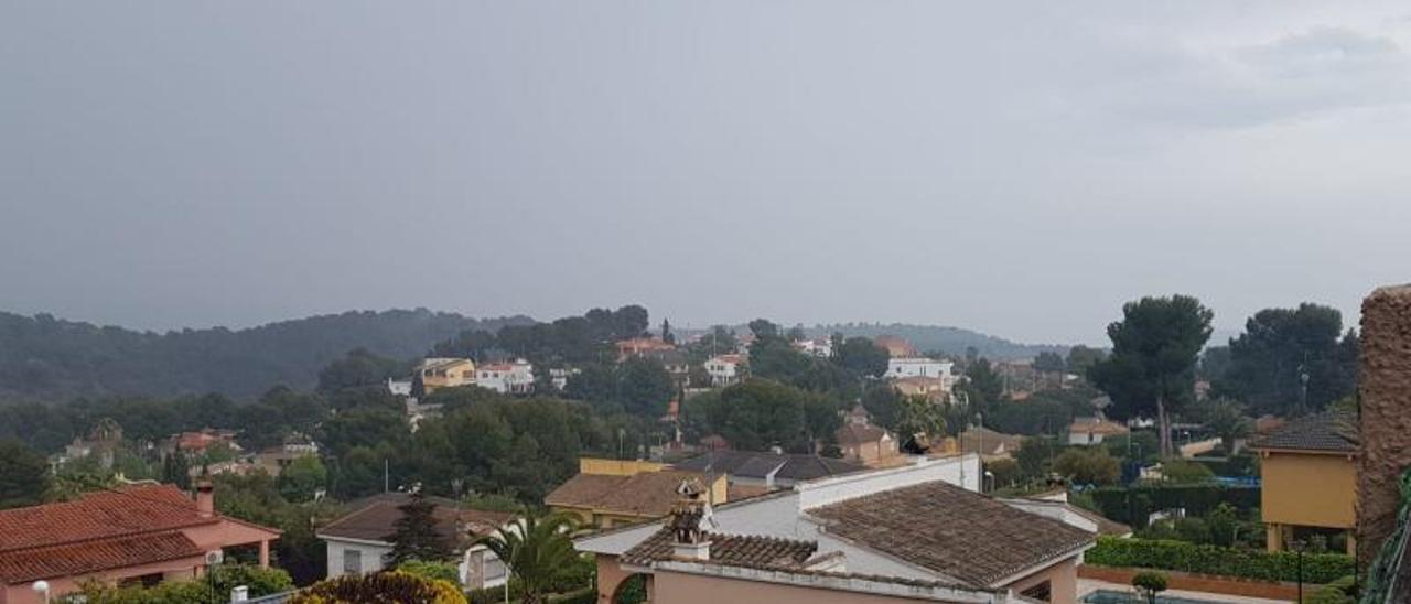 Vista general de la urbanización de San Miguel, en Náquera.   LEVANTE-EMV