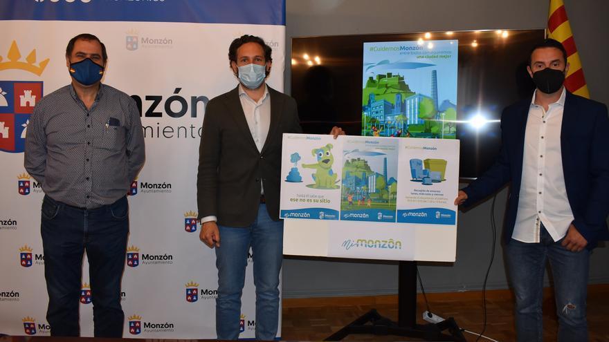 Monzón implica a sus vecinos en la limpieza de su ciudad