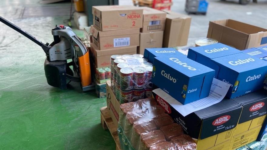 La ayuda de la Junta al Banco de Alimentos permite atender a más de 58.000 personas en Málaga