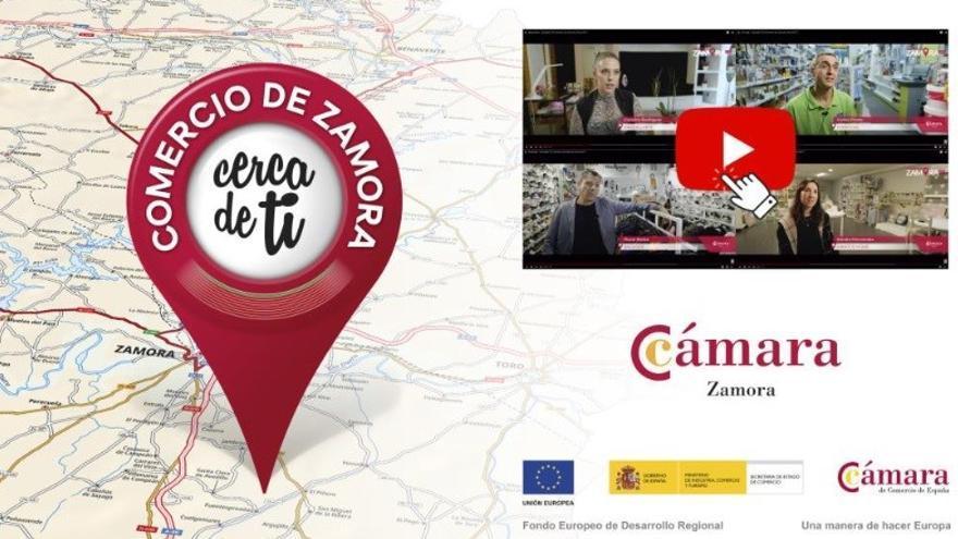 """""""Zamora, cerca de ti"""": la nueva campaña de la Cámara de Comercio para potenciar el consumo local"""