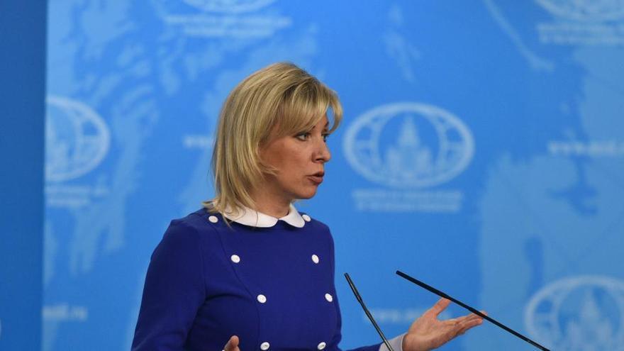 """Rusia dice que la UE buscaba una """"fustigación pública"""" de Moscú durante la visita de Borrell"""