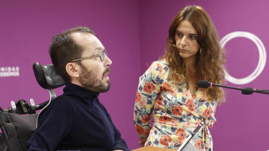 """Echenique pide a Sánchez que """"abandone las tácticas"""""""