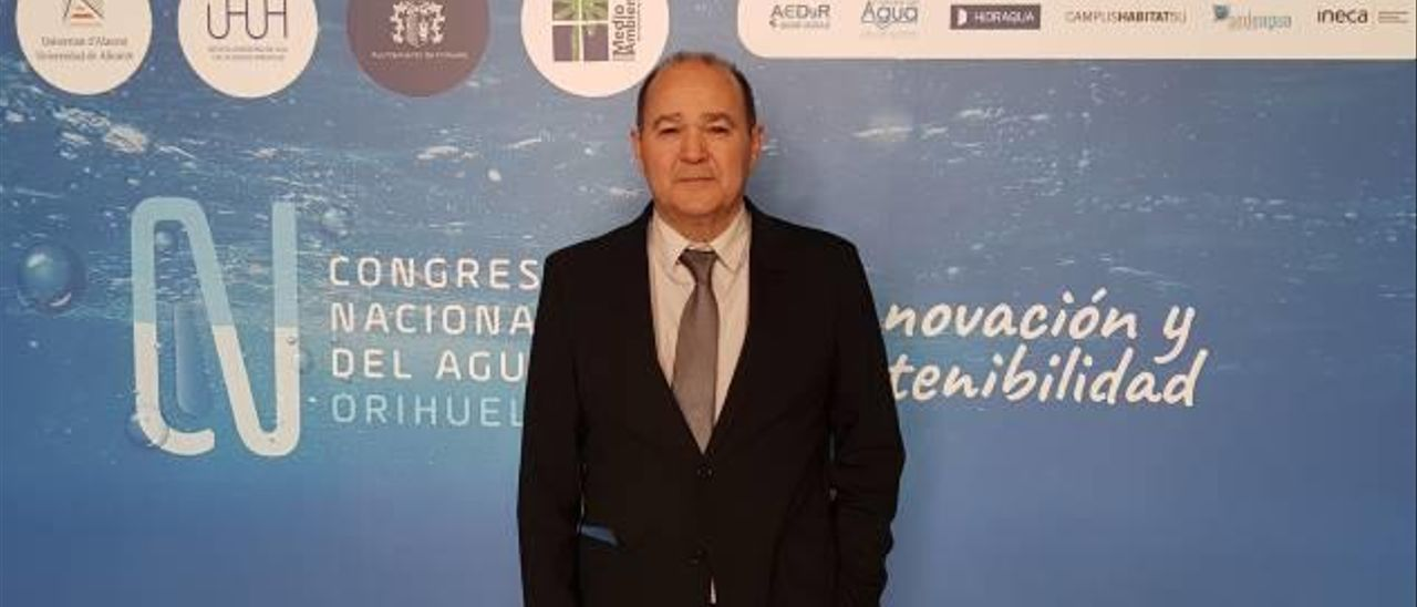 Joaquín Melgarejo: «La Vega Baja tiene un grave problema de calidad de agua»