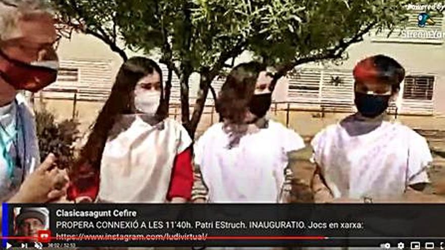Más de 80 centros de  España viven los Ludi Saguntini virtuales