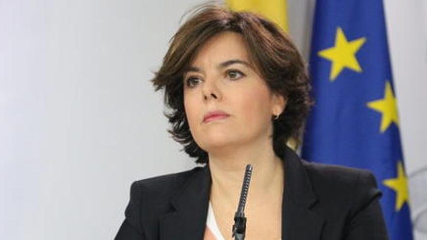 Junts per Catalunya afegeix nous delictes a la denúncia contra Sáenz de Santamaría