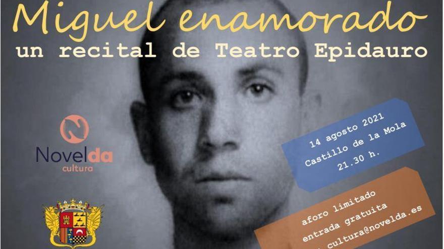 Miguel Enamorado, un recital de Teatro Epidauro