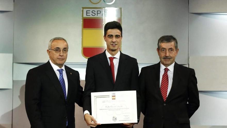 El COE reconeix Joel González pel bronze de Río