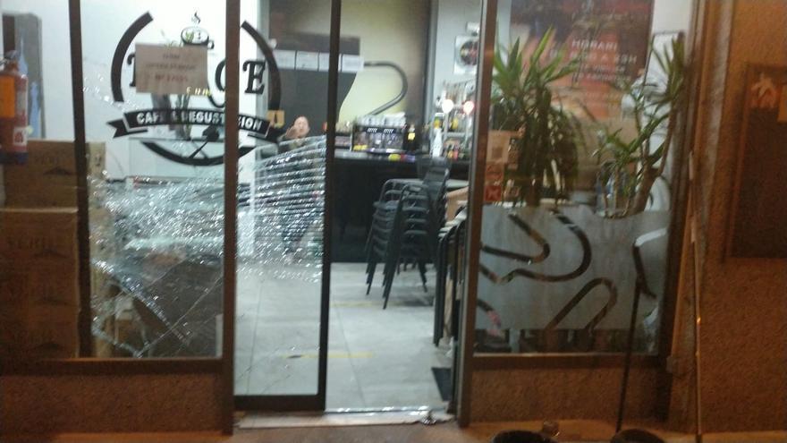 Un lladre assalta el Bar Nuage de Girona en menys de dos minuts