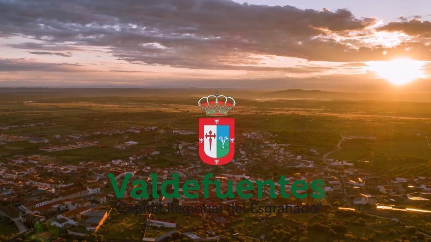Valdefuentes, Capital Regional del Esgrafiado