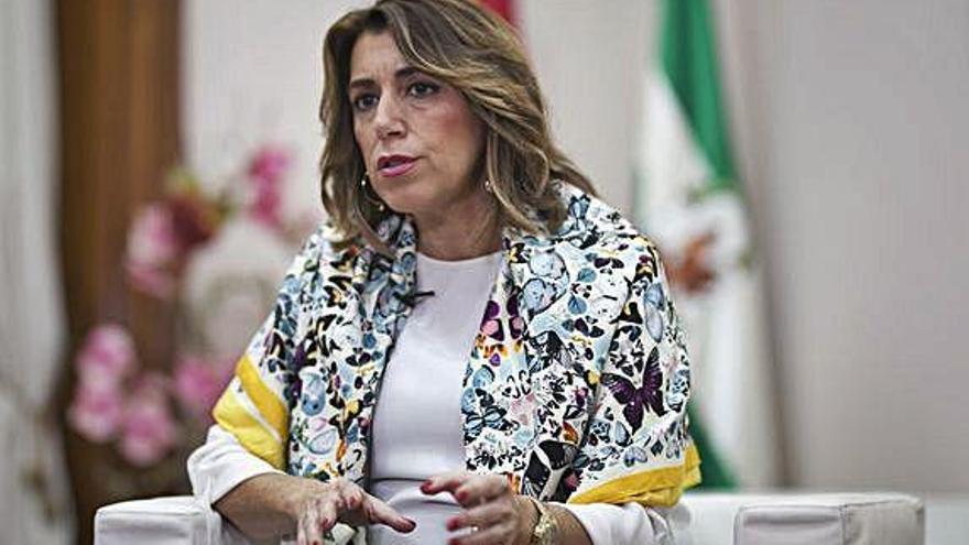 Susana Díaz elogia la generositat de Sánchez per «dialogar amb tothom»