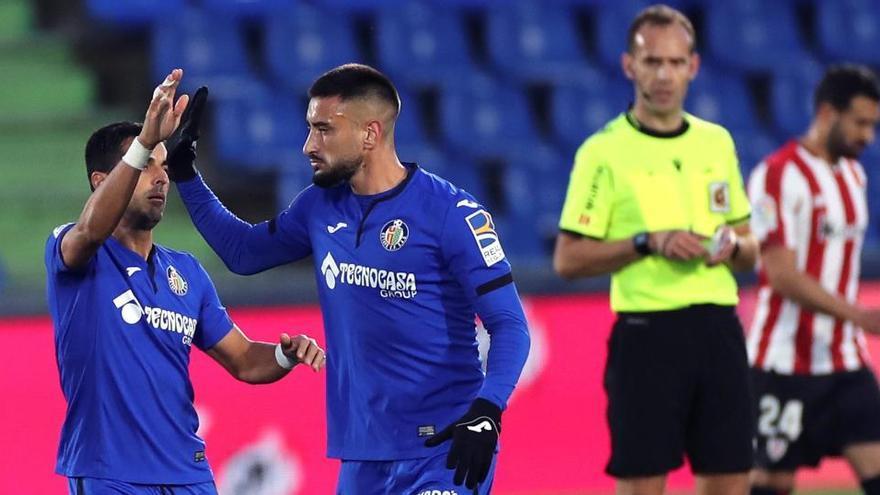 Ángel  salva un punto para el Getafe ante el Athletic