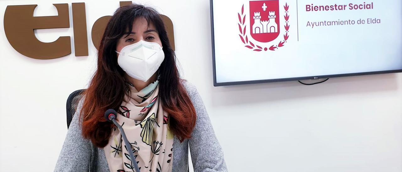 Alba García, concejala de Bienestar Social en Elda.