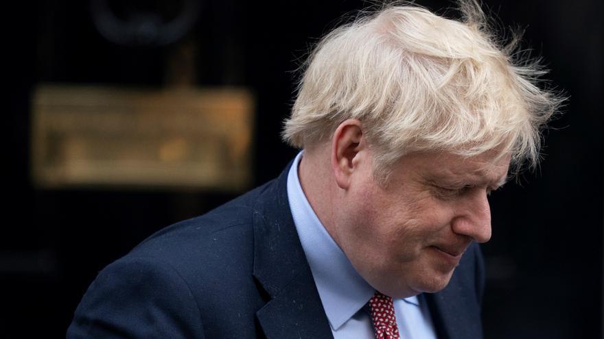 Boris Johnson al desnudo