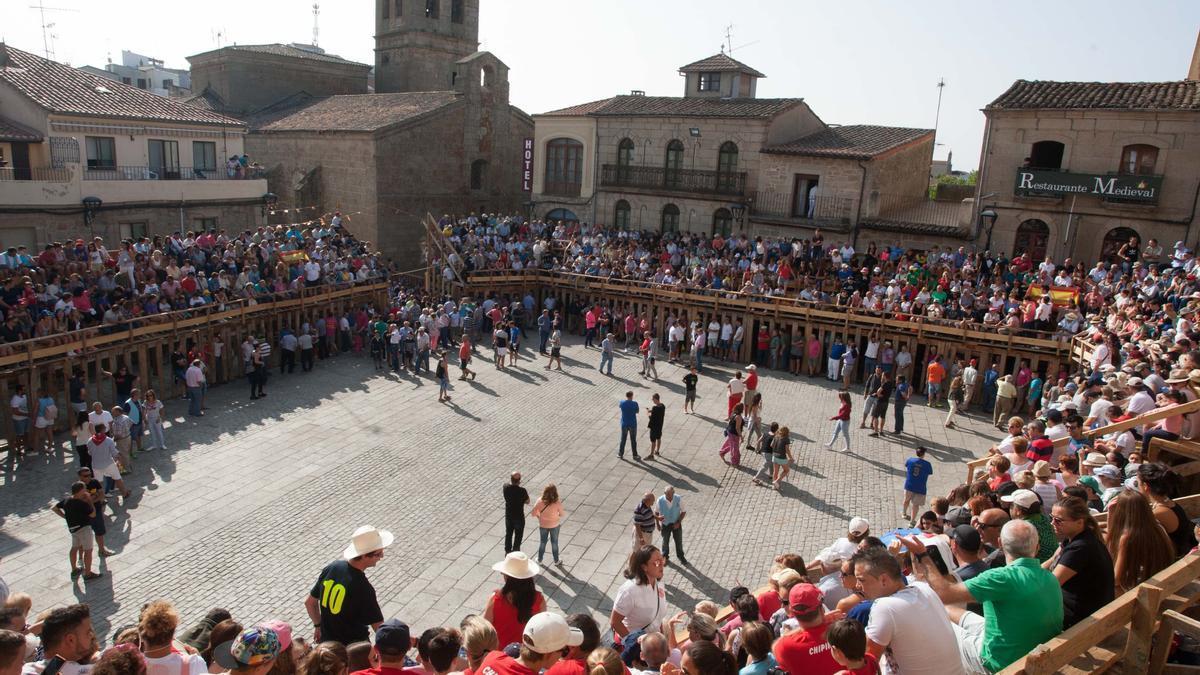 Encierros de Fermoselle, tradición más emblemática de las Fiestas de San Agustín